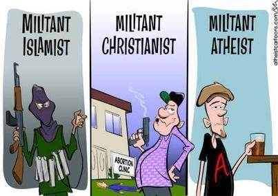 The Myth of Militant Atheism | Psychology Today | And Justice For All | Scoop.it
