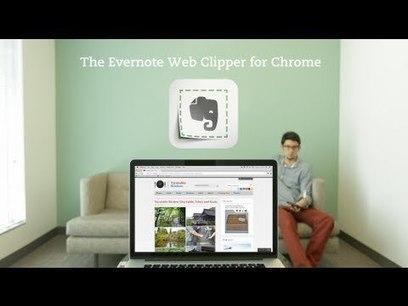 El nuevo Evernote Web Clipper - eju.tv | BP | Scoop.it