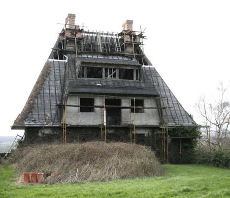 Orne. La mystérieuse maison d'Héloup, en chantier depuis 45 ans ! | Le Mag ornais.fr | Scoop.it