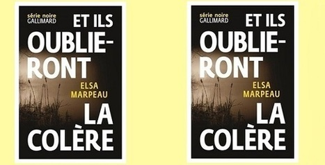 Elsa Marpeau: Et ils oublieront la colère (Série Noire, 2015) | SCveille | Scoop.it