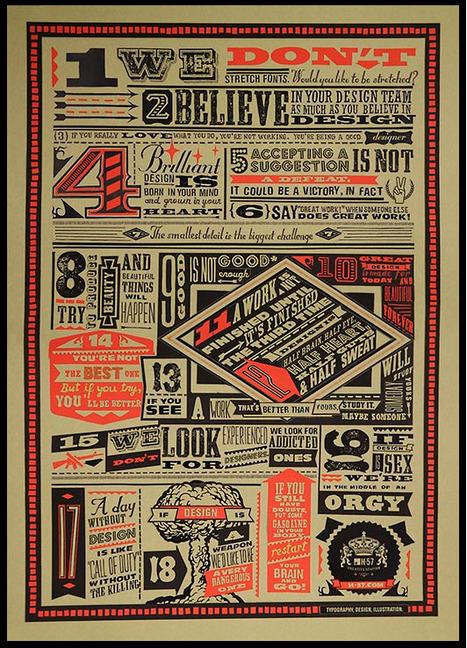 Design Commandments... | Art for art's sake... | Scoop.it