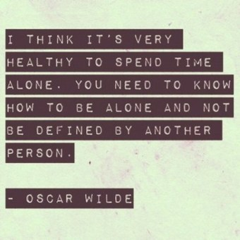 Oscar Wilde quotes : spend timealone. | Favorite Quotes. | Scoop.it