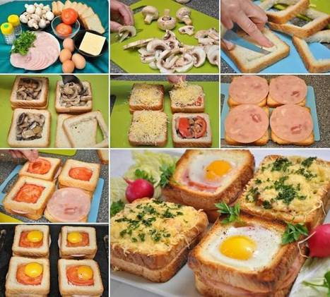 Try These Delicious Mega Sandwiches for Breakfast   Stylish Board   Scoop.it