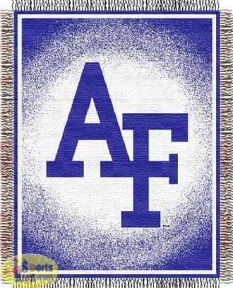 Northwest Air Force Academy Falcons Triple Woven Acrylic Throw (Focus Series) | NCAA Bedding Sets - Sportskids.com | Scoop.it
