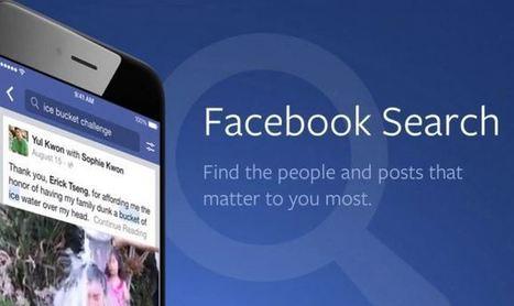 Facebook Search génère maintenant 2 milliards de recherches par jour   Référencement internet   Scoop.it