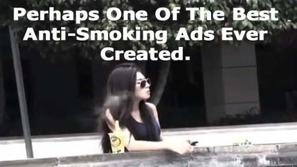 Perhaps One Of The Best Anti-Smoking Ads Ever Created. | Strange days indeed... | Scoop.it