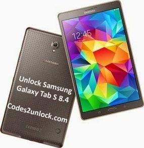 How to Unlock Samsung Galaxy Tab S 8.4 by Network Unlock Code | Codes2unlock.com | Unlocking Instructions | Scoop.it