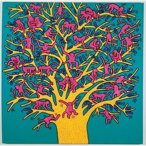 Keith Haring - MaM - Paris.fr | Histoire des arts Clg Denfert-Rochereau. Auxerre | Scoop.it