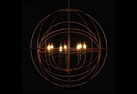 Double Gyro Chandelier   Timothy Oulton   3D Product Design   Scoop.it