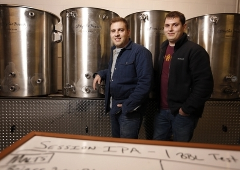 Craft beer: Childhood friends creating small production brewery | Homebrewing, craft beer | Scoop.it