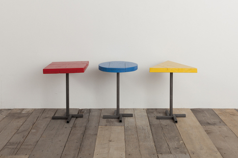 Colour Study Tables / Bauhaus / Barbican | Rupert Blanchard | Diseño, bauhaus | Scoop.it