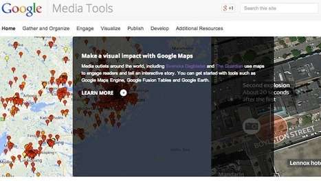 Google Media Tools: a new intersection for newsgathering | visual data | Scoop.it
