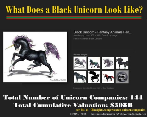 are there Black unicorns -The Complete List of Unicorn Companies | @BadasseBs | Scoop.it