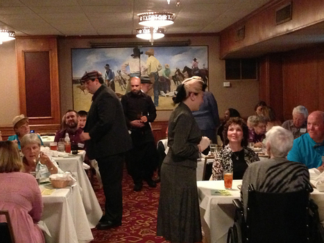 Surviving the Mystery Train's murder-mystery dinner theater | Pitch | OffStage | Scoop.it