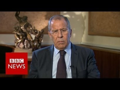 Russia Foreign Minister Sergei Lavrov tells BBC that US Plan B 'was to spare Al Nusra' in Syria | Global politics | Scoop.it