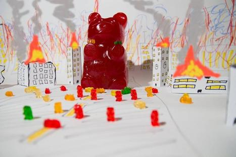 """The name """"gummy"""" bear comes from the German word for rubber. They were almost discontinued in WWII 