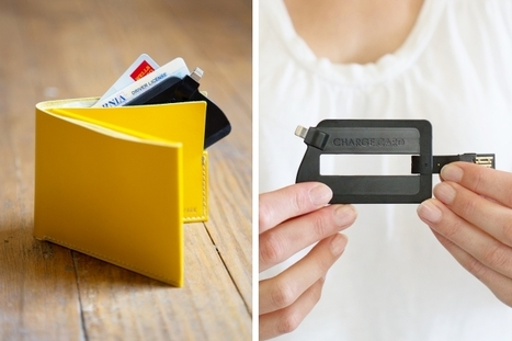 The ChargeCard: a super slim usb cable for your phone | Good Products & Service | Scoop.it