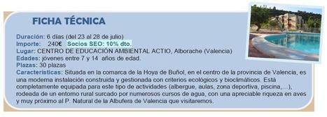 CAMPAMENTO VERANO SEO/BIRDLIFE - Actio Activitats | Turismo de Naturaleza, en familia | Scoop.it