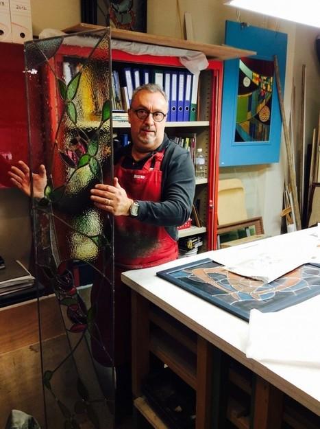 Portrait de Marc, vitrailliste parisien dans le 9ème arrondissement | miseauverre.com | Scoop.it