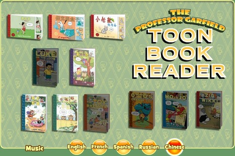 Toon Book Reader   Chinese language learning online tools for beginners 中文入門工具   Scoop.it