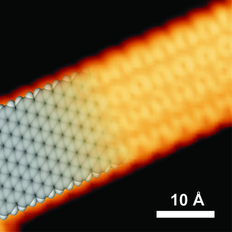 Team aims to create graphene nanoribbon 'wires' capable of carrying information thousands of times faster | Physics as we know it. | Scoop.it