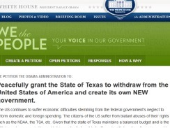 States petition to secede from union | global corporate citizenship | Scoop.it