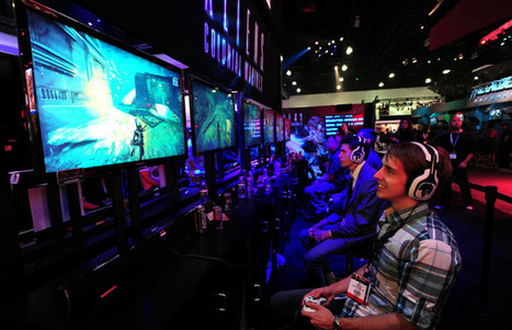 Blind gamers get by with a little help from their friends | Blind, deafblind, low vision | Scoop.it