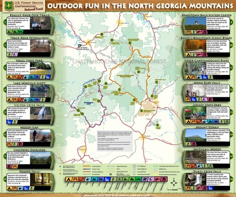 "Chattahoochee-Oconee National Forest - Home | Buffy Hamilton's Unquiet Commonplace ""Book"" 