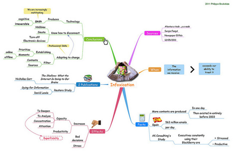 Visual Mapping: Infoxication   ebusiness   Scoop.it