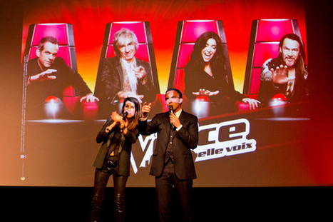 The Voice saison 2 : des voix mais aussi un concentré de réseaux sociaux et second écran | TV connected | Scoop.it