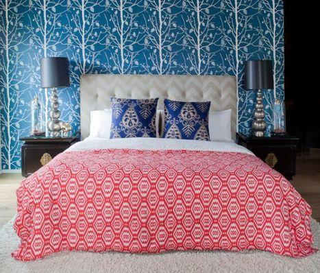 15 Bedroom wallpaper ideas, styles, patterns and colors | Bedroom Wallpaper | Scoop.it
