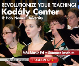 NAfME – Music Education – Ten Tips for Integrating Composition into Elementary General Music | Processus créatif en éducation artistique_Creative Process in Arts Education | Scoop.it