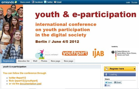 youth & e-participation | Social Media and its influence | Scoop.it