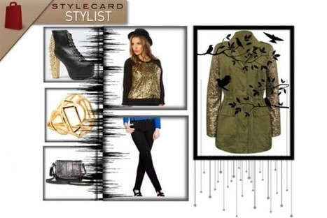 StyleCard Stylist: Military Style With A Glamorous Twist | StyleCard Fashion Portal | Fashion for all man kind | Scoop.it