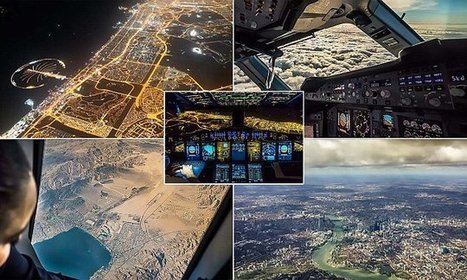 Passenger Plane Pilot Films Amazing Footage Of Dubai At Night | Everything from Social Media to F1 to Photography to Anything Interesting | Scoop.it