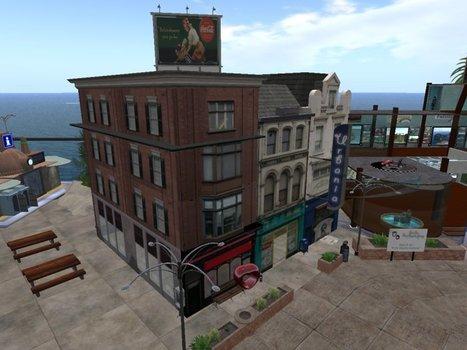 Urbania Rowhouses by Sarg Bjornson | Teleport Hub | Second Life Freebies | Scoop.it