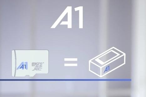 A1, le nouveau standard de cartes SD pour vos smartphones Android | Freewares | Scoop.it