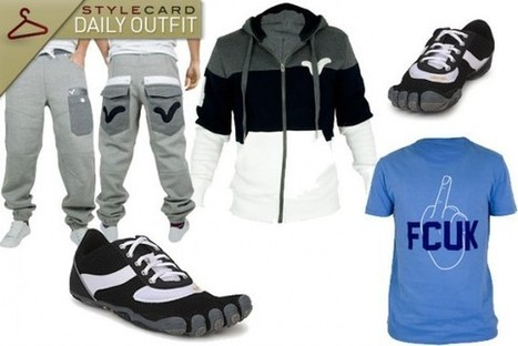 Men's Monday: Daily Outfit – January = Gym   StyleCard Fashion Portal   StyleCard Fashion   Scoop.it