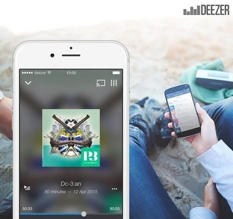 Deezer lanza servicio de podcasts con más de 20.000 programas de noticias, entretenimiento y deportes | Pedalogica: educación y TIC | Scoop.it