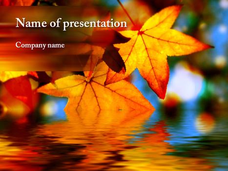 Download free Autumn Leaves powerpoint template for presentation | Powerpoint Templates and Themes | Scoop.it