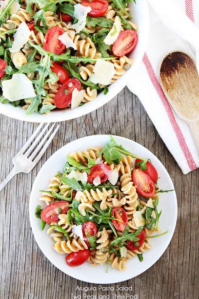 Arugula Pasta Salad | Whole Wheat Pasta Salad Recipe | Surfing The Web | Scoop.it