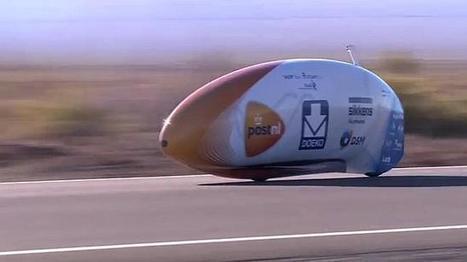 Un holandés bate el récord de velocidad en #bicicleta   Deporte sostenible UNDAV   Scoop.it