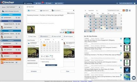 eClincher. Un outil complet pour gérer tous vos réseaux sociaux – Les outils de la veille | Les outils du Web 2.0 | Scoop.it