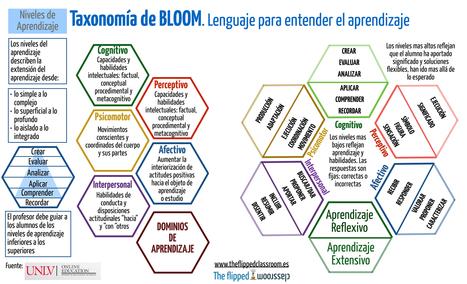La taxonomía de Bloom, un lenguaje para entender el aprendizaje | Posibilidades pedagógicas. Redes sociales y comunidad | Scoop.it