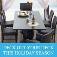 Five Ways to Deck out Your Deck This Holiday Season - Design Furnishings   Outdoor Furnishings   Scoop.it