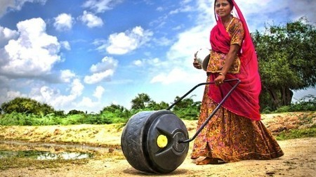 India: WaterWheel aims to lighten the load for women in developing nations | GizMag.com | Tips and hits | Scoop.it