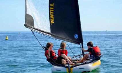 Tiwal 3.2 – Not Just A Family Dinghy !   Tiwal , the inflatable sailing dinghy made in France   Scoop.it