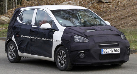 Spied: This is the New 2014 Hyundai i10 City Car - Carscoop (blog) | Hyundai Scoops | Scoop.it