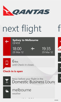 First Look: Qantas' slick Windows Phone 7 smartphone app - Australian Business Traveller | digitalmashup | Scoop.it