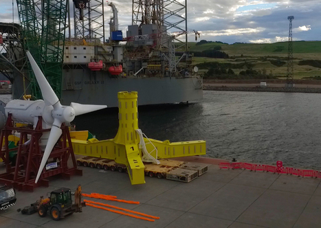 MeyGen: World's largest tidal power project has launched in Scotland! | Sustainable Technologies | Scoop.it